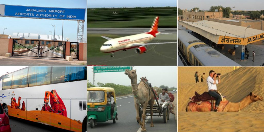 How to Reach Jaisalmer
