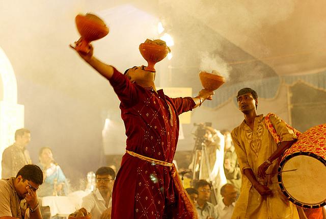 Durga Puja Celebration in Kolkata