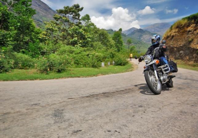 bike riding in Kerala