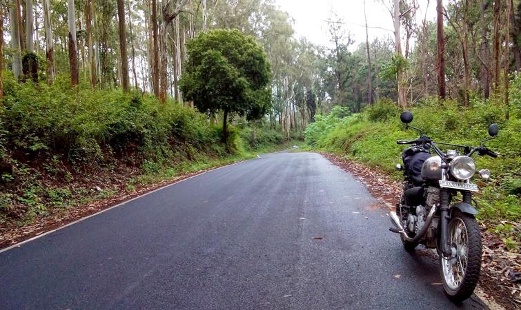 bike riding in Kolli Hills